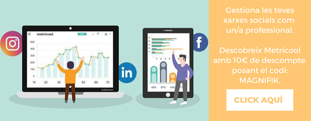 Analitica redes sociales Tutorial Metricool