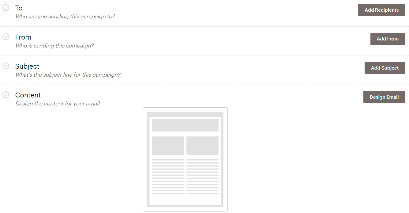 Campanya newsletter amb Mailchimp