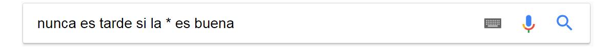 busqueda multiple comandos de busqueda de google
